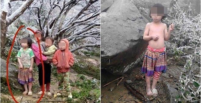 """Cô bé vùng cao và 2 hình ảnh khiến nhiều người """"đứng hình"""""""