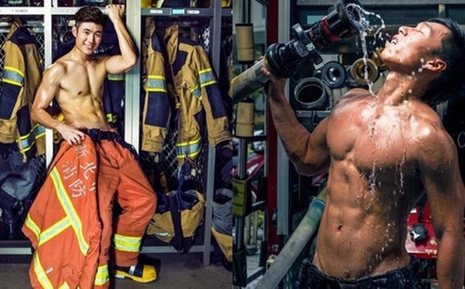 Bỏng mắt với dàn lính cứu hỏa Đài Loan nóng bỏng đến từng centimet