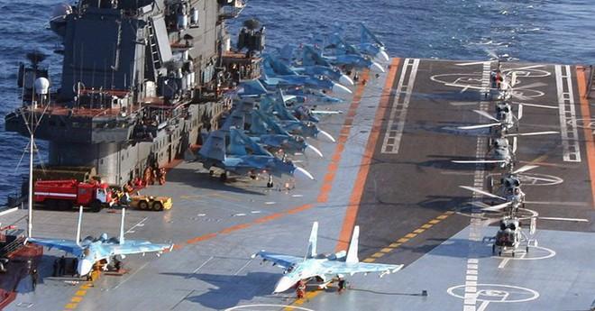 Những uẩn khúc trong tuyên bố Nga điều tàu sân bay tới Syria - Ảnh 2.