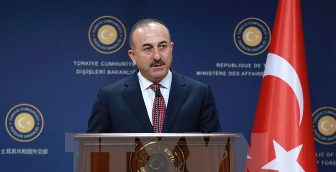 Ngoại trưởng Thổ Nhĩ Kỳ Mevlut Cavusoglu. (Nguồn: AFP/TTXVN)