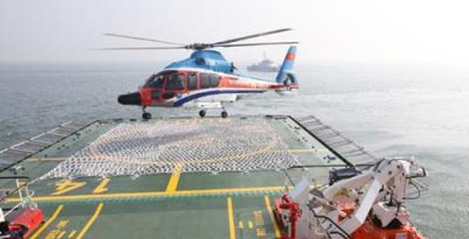 Trực thăng trang bị cho tàu CSB 8004
