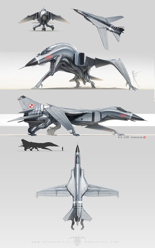 ẢNH ẤN TƯỢNG: Chiến đấu cơ, xe tăng Nga bỗng chốc biến thành... quái vật thời tiền sử - Ảnh 6.