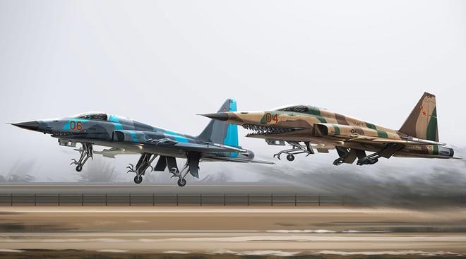 ẢNH ẤN TƯỢNG: Chiến đấu cơ, xe tăng Nga bỗng chốc biến thành... quái vật thời tiền sử - Ảnh 7.