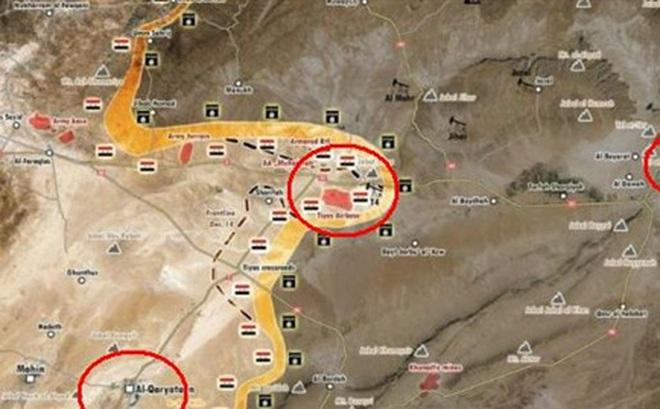 Palmyra-T4: Quân đội Syria phản công lớn, chờ tăng viện lật ngược tình thế