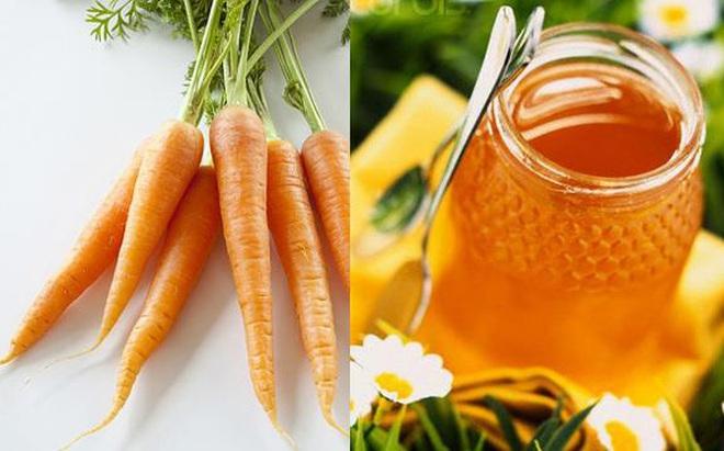 """""""Tạm biệt"""" ho có đờm vĩnh viễn với bài thuốc đặc trị từ cà rốt và mật ong"""