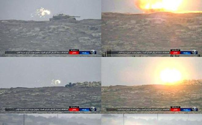Quân Thổ Nhĩ Kỳ lĩnh đòn đau ở Syria