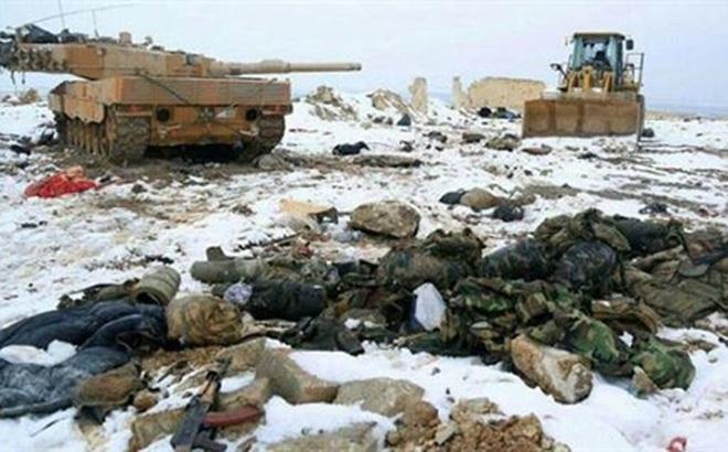 Quân Thổ gặp họa ở al-Bab/Aleppo: Tan tành lá chắn Euphrates