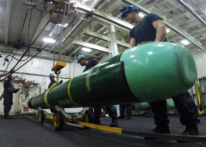 Trung Quốc giúp Mỹ tái sản xuất ngư lôi Mk-48 mới - Ảnh 1.