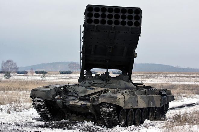 Lục quân Nga khoe hàng chủ lực  - Ảnh 12.