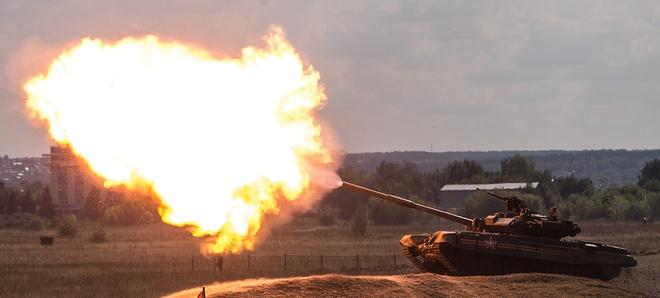 Lục quân Nga khoe hàng chủ lực  - Ảnh 13.