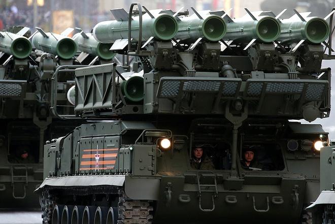 Lục quân Nga khoe hàng chủ lực  - Ảnh 15.