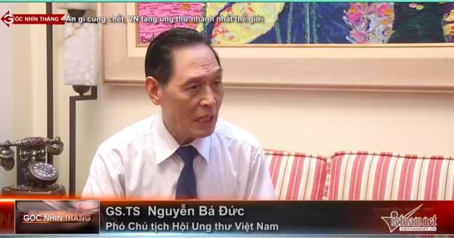 Người Việt có tốc độ mắc ung thư nhanh nhất thế giới