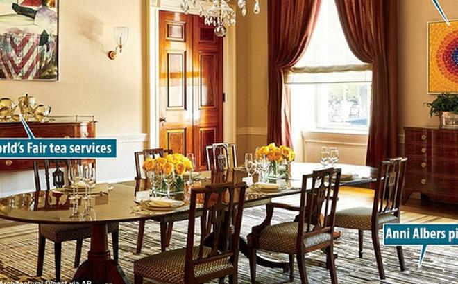 Có gì trong những căn phòng sinh hoạt của Tổng thống Obama và gia đình tại Nhà Trắng?