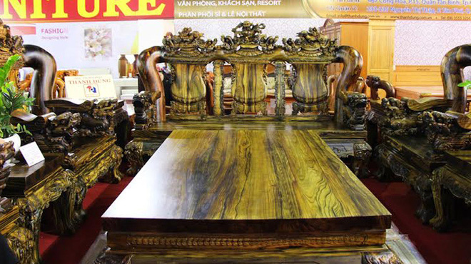 The most expensive wood furniture of the rich in vietnam - Most expensive type of wood ...