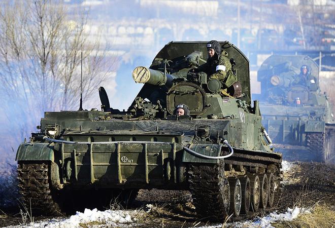 Lục quân Nga khoe hàng chủ lực  - Ảnh 6.
