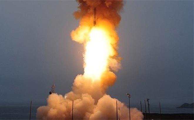 Tên lửa đạn đạo liên lục địa của Mỹ là vũ khí tấn công lợi hại
