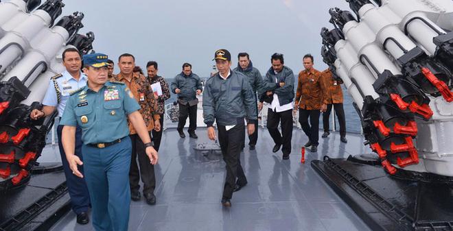 19 học giả gửi thư giục TT Indonesia thể hiện vai trò ở Biển Đông