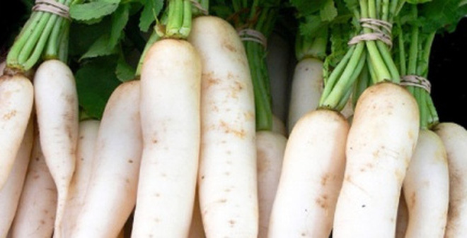 5 thực phẩm kỵ ăn với củ cải trắng vì dễ sinh bệnh