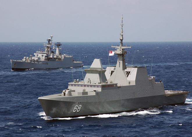Pháp mang khinh hạm La Fayette tới Biển Đông để chào hàng VN? - Ảnh 1.