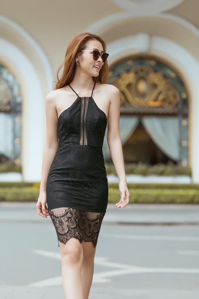 Diệp Bảo Ngọc mặc áo yếm, khoe lưng trần trên phố - Ảnh 10.