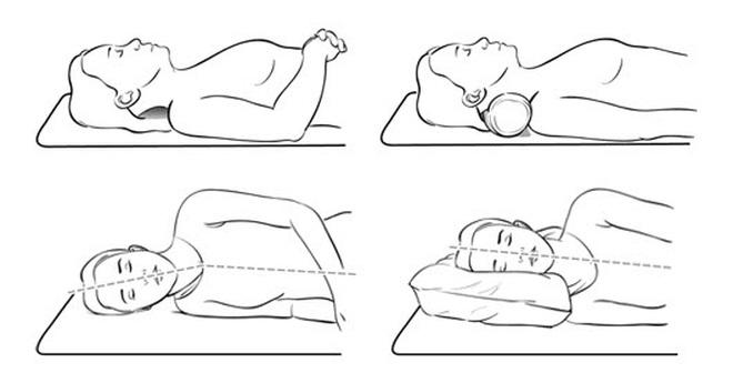 Kết quả hình ảnh cho ngủ không kê gối