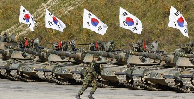 Image result for quân đội hàn quốc