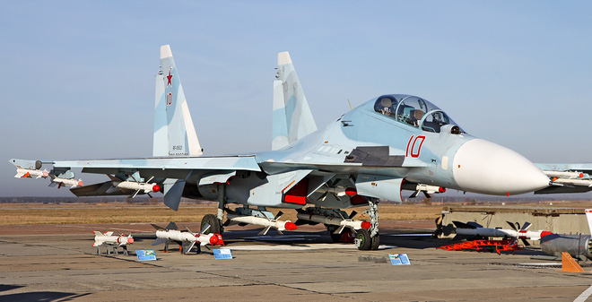 Người dân Hà Nội sẽ có cơ hội nhìn tận mắt tiêm kích Su-30MK2?