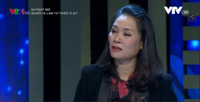 """""""60 phút mở"""", MC Tạ Bích Loan: Làm từ thiện để làm gì? Để làm gì?"""