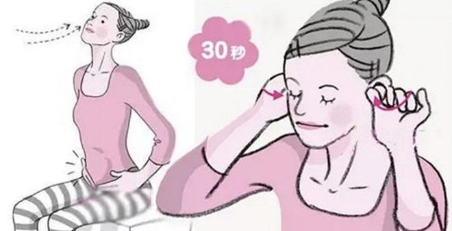 Bài tập mát xa tai 30 giây: Chữa táo bón, thông ruột tức thì