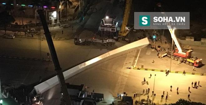 PV bị đánh khi tác nghiệp vụ dầm thép khủng rơi ở Trần Duy Hưng