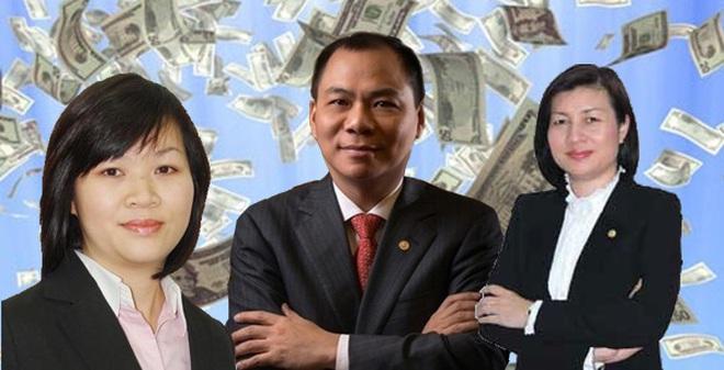 """Mức lương """"khủng"""" của dàn lãnh đạo công ty tỷ phú Phạm Nhật Vượng"""