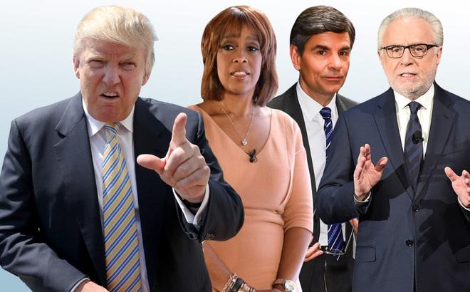 """Cuộc họp với Trump giống """"buổi xử bắn"""": Sếp lớn CNN, NBC... bị mắng là """"dối trá, lừa đảo"""""""