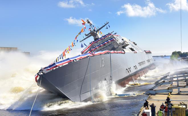 Trump muốn xây dựng Hải quân Mỹ thành lực lượng mạnh nhất mọi thời đại. Ảnh: U.S. Navy.