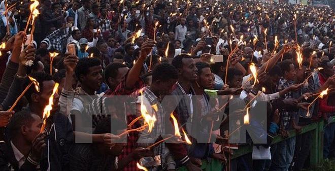 Cảnh sát Ethiopia bị cáo buộc làm hơn 100 người chết vì giẫm đạp