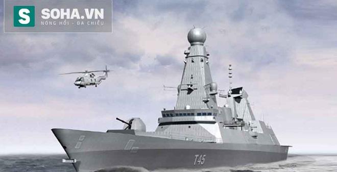Khám phá sức mạnh khu trục hạm phòng không hiện đại nhất châu Âu