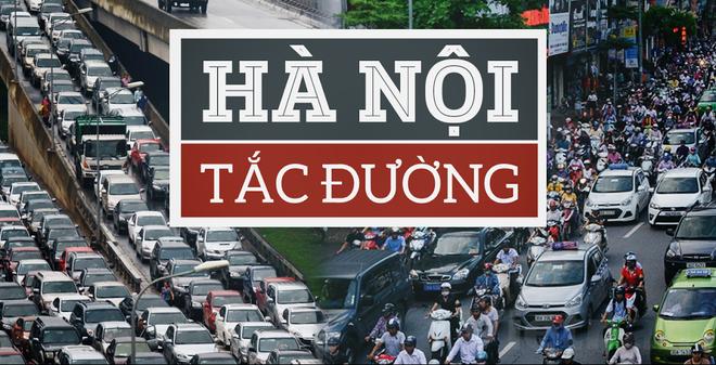 Chữa tắc đường ở Hà Nội: Dời đô hành chính hay cấm xe máy?