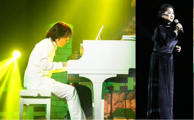 Con trai nhạc sĩ Nguyễn Ánh 9 thay cha đệm đàn cho Khánh Ly - Ảnh 3.