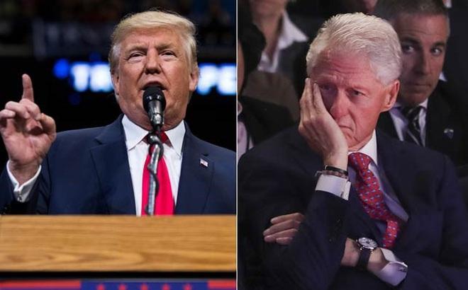 Trump và Bill Clinton đấu khẩu về trí thông minh của Trump