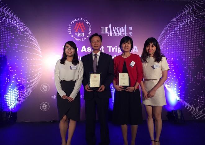 BIDV nhận được giải thưởng Nhà tư vấn phát hành trái phiếu tốt nhất Việt Nam năm 2016 - Ảnh 1.