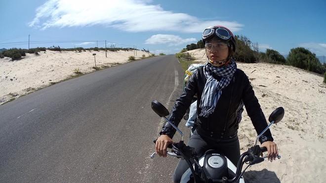Tạm biệt cuộc sống sang chảnh, tiểu thư 21 tuổi vác xe đi phượt hơn 1200km - ảnh 2