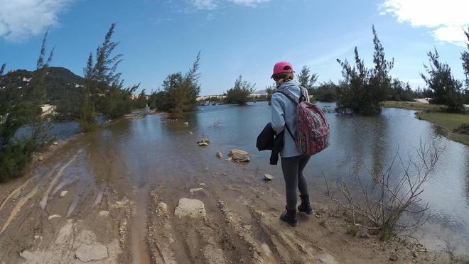 Tạm biệt cuộc sống sang chảnh, tiểu thư 21 tuổi vác xe đi phượt hơn 1200km - ảnh 5