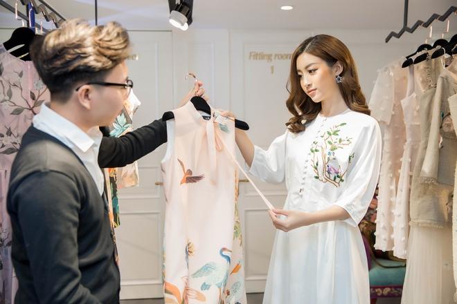 Đỗ Mỹ Linh đầu tư mua sắm, chuẩn bị cho Hoa hậu thế giới - Ảnh 2.