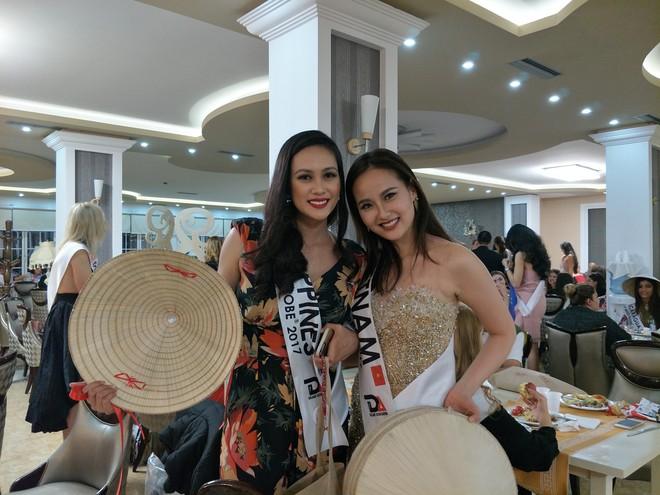 Hoa hậu Sắc đẹp Hoàn cầu: Khánh Ngân lọt Top 5 thí sinh được yêu thích - Ảnh 3.