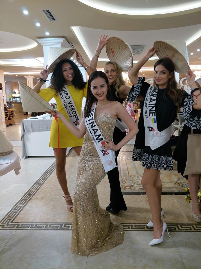 Hoa hậu Sắc đẹp Hoàn cầu: Khánh Ngân lọt Top 5 thí sinh được yêu thích - Ảnh 6.
