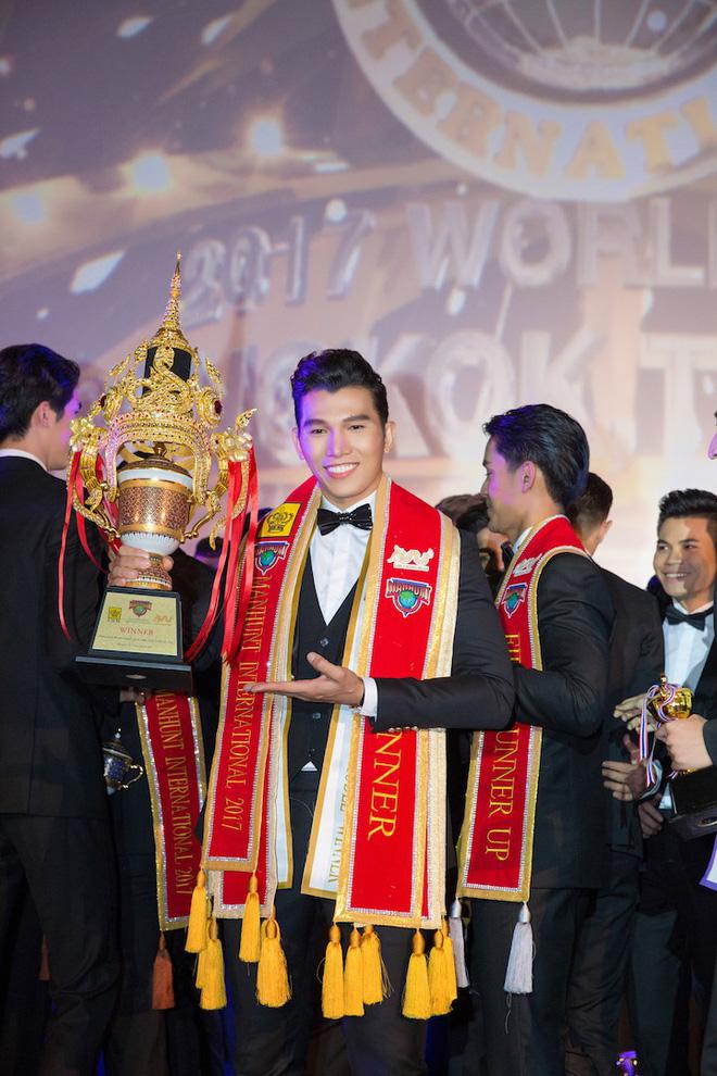 Ngọc Tình hạ gục chủ nhà Thái Lan, đăng quang Nam vương Quốc tế 2017 - Ảnh 4.