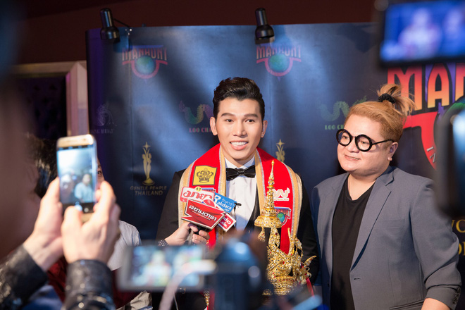 Ngọc Tình hạ gục chủ nhà Thái Lan, đăng quang Nam vương Quốc tế 2017 - Ảnh 6.