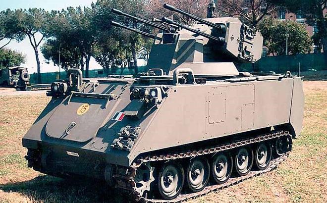 SIDAM 25 - Nguyên mẫu thiết kế của pháo phòng không tự hành Type 95 SPAAA Trung Quốc