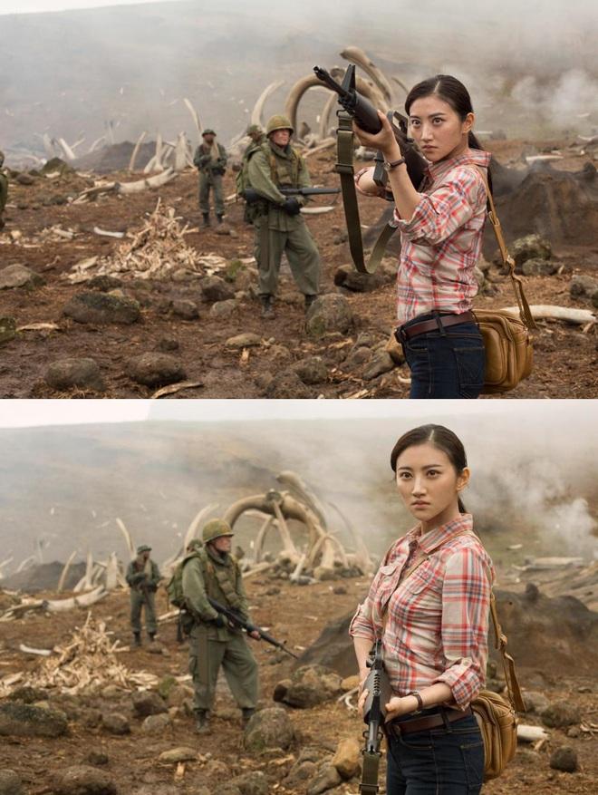 Khán giả Trung chẳng đoái hoài gì đến Cảnh Điềm khi tham gia Kong: Skull Island - Ảnh 1.