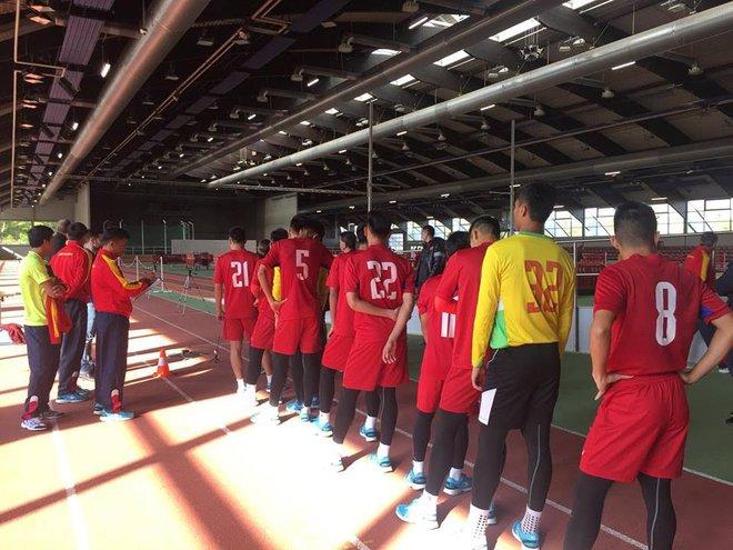 U20 Việt Nam vượt qua bài test thể lực gắt gao theo tiêu chuẩn Đức - Ảnh 4.