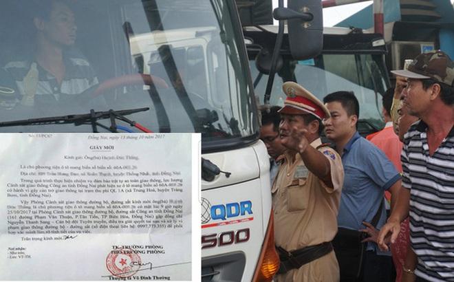 Ông Võ Đình Thường kể quá trình phấn đấu từ khi bị cách chức đến Phó Phòng CSGT Đồng Nai